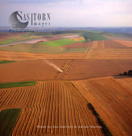 Hay Harvesting, Wiltshire, England, Somerset