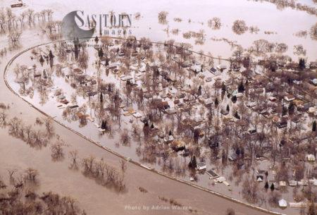 Floods At Grand Forks 2006, North Dakota, USA