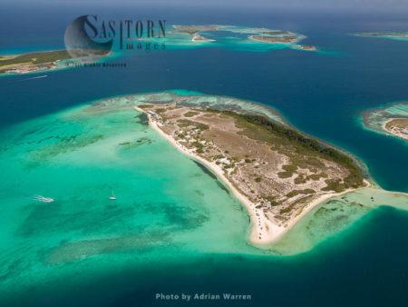Madrisqui Island, An Island In Los Roques Archipelago, Caribbean Sea, Venezuela