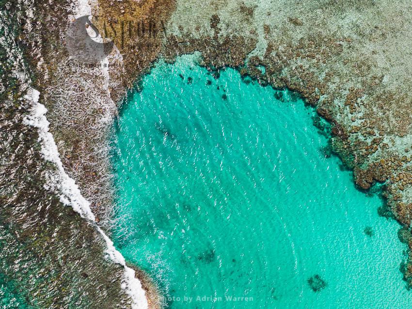 An Area Between  Arriba And Abajo Islands, Cayos Francisqui Group Of Islands In Los Roques Archipelago, Caribbean Sea, Venezuela