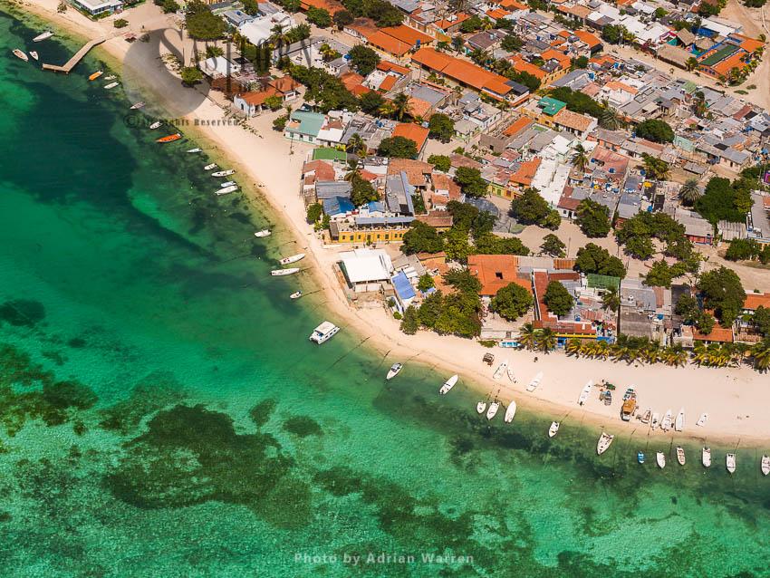Gran Roque, The Main Island Of Los Roques Archipelago, Caribbean Sea, Venezuela