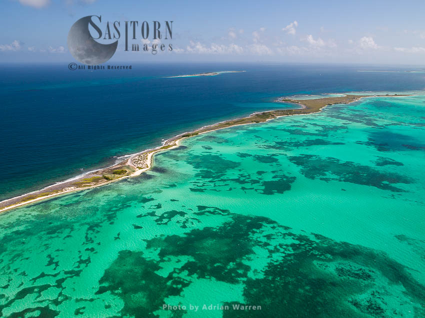 Carenero, Island On Roques Archipelago, Caribbean Sea, Venezuela, Caribbean Sea, South America