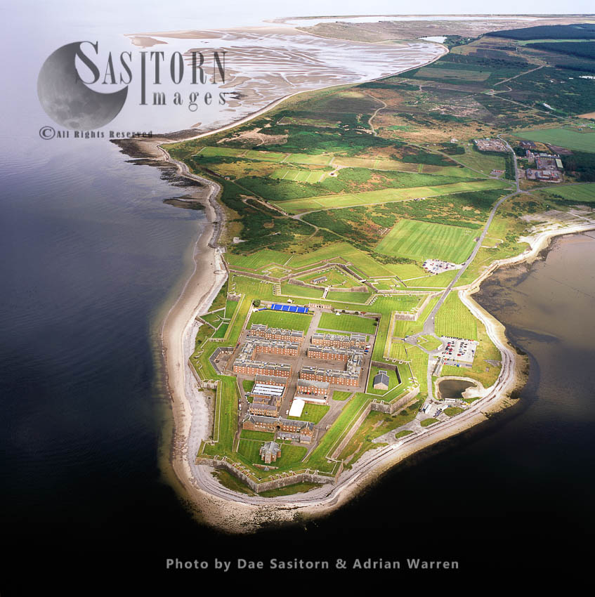 Fort George, Ardersier, A Large Fortress Near Inverness, Highlands, Scotland