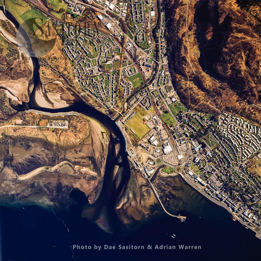Fort William, Gateway To Ben  Nevis, Western Scottish Highlands, Scotland