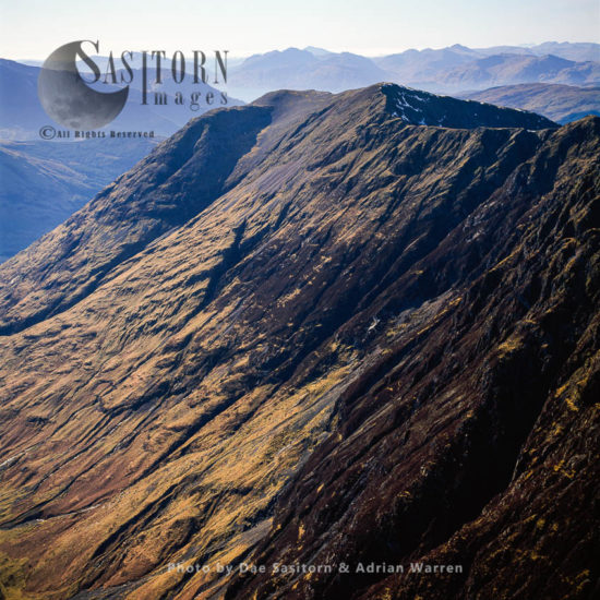 Glacial Valley: Beinn Fhada, Near Pass Of Glencoe, Highlands, Scotland