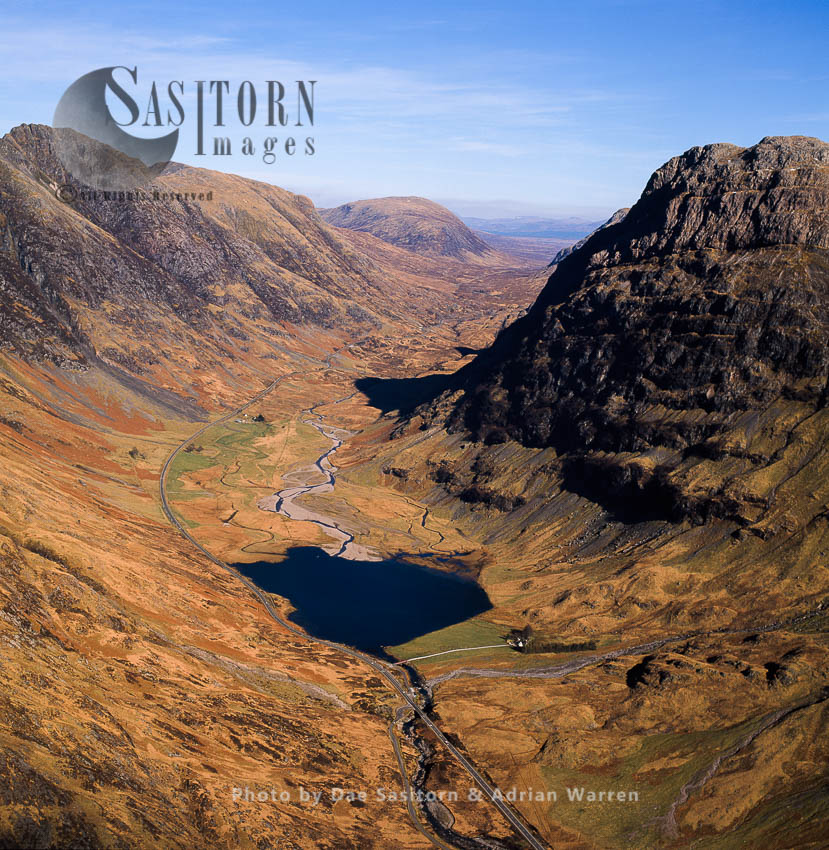 The Pass Of Glencoe, Lochaber, Highlands, Scotland