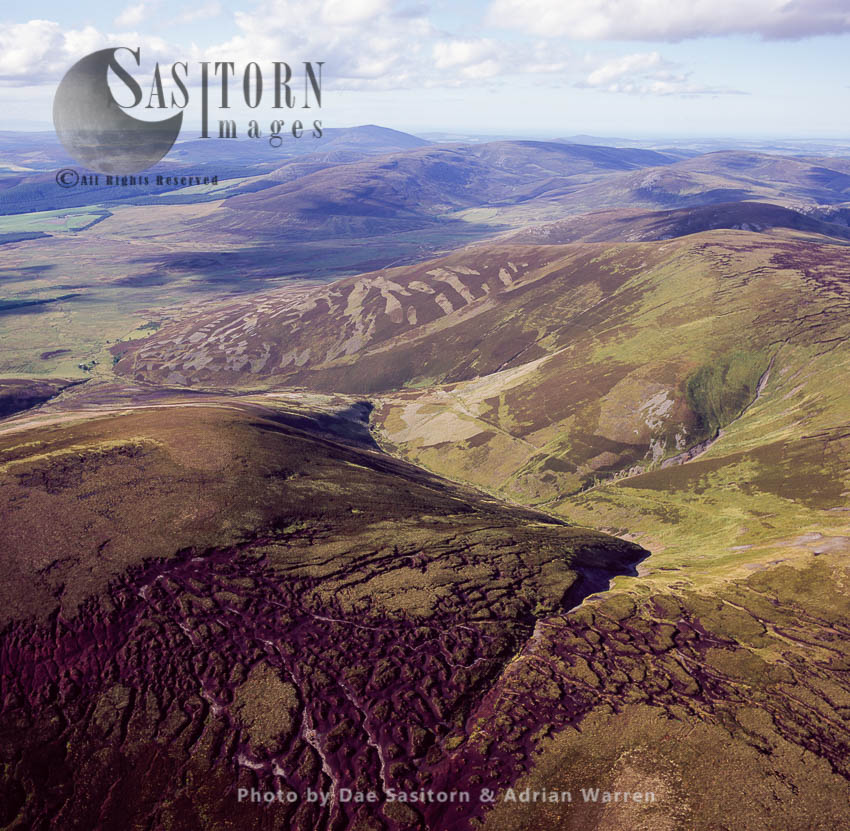 The Ladder Hills, A Ridge Of Rolling Uplands With Broad Summits, In The Cairngorms National Park