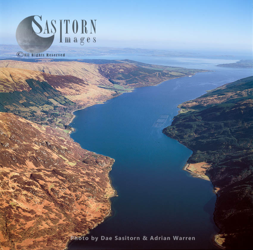 Loch Fyne, A Sea Loch On The West Coast Of Argyll And Bute, Scotland