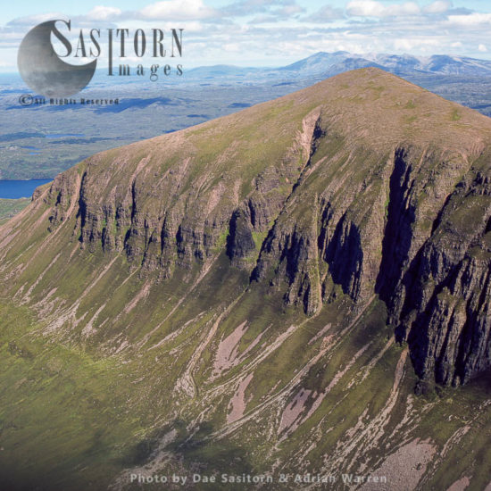 Sail Ghorm Of The Mountain Of Quinag, Sutherland, Scotlands