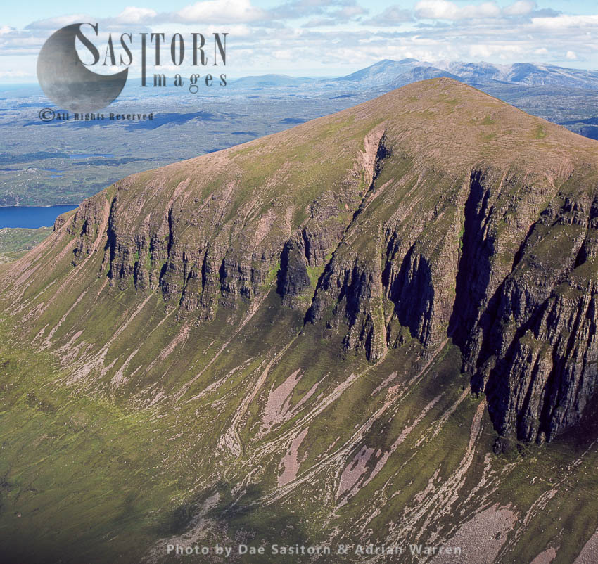 Sail Ghorm Of The Mountain Of Quinag, Sutherland, Scotland