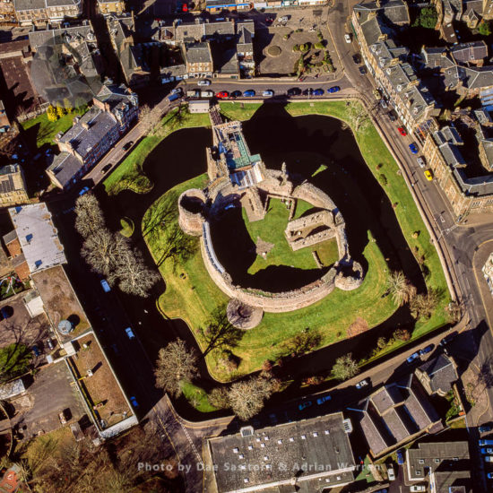 Rothesay Castle, Rothesay, Isle Of Bute, Highlands, Scotland