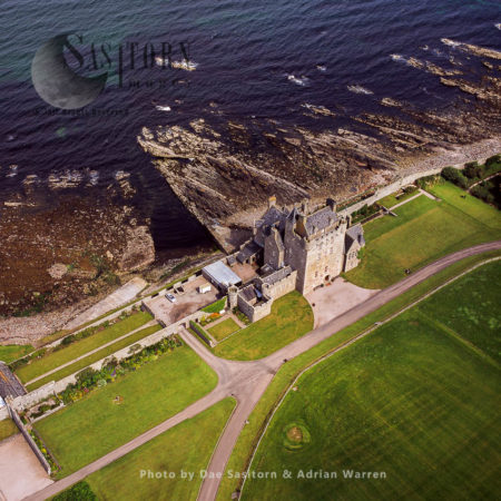 Ackergill Tower Or Ackergill Castle Is A Scottish Castle In Wick, Caithness, Highlands, Scotland