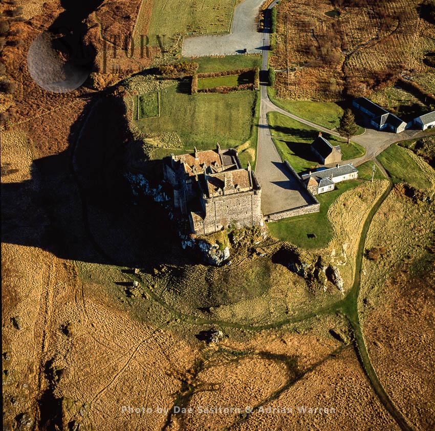Duart Castle, Isle Of Mull, Inner Hebrides, Scotland