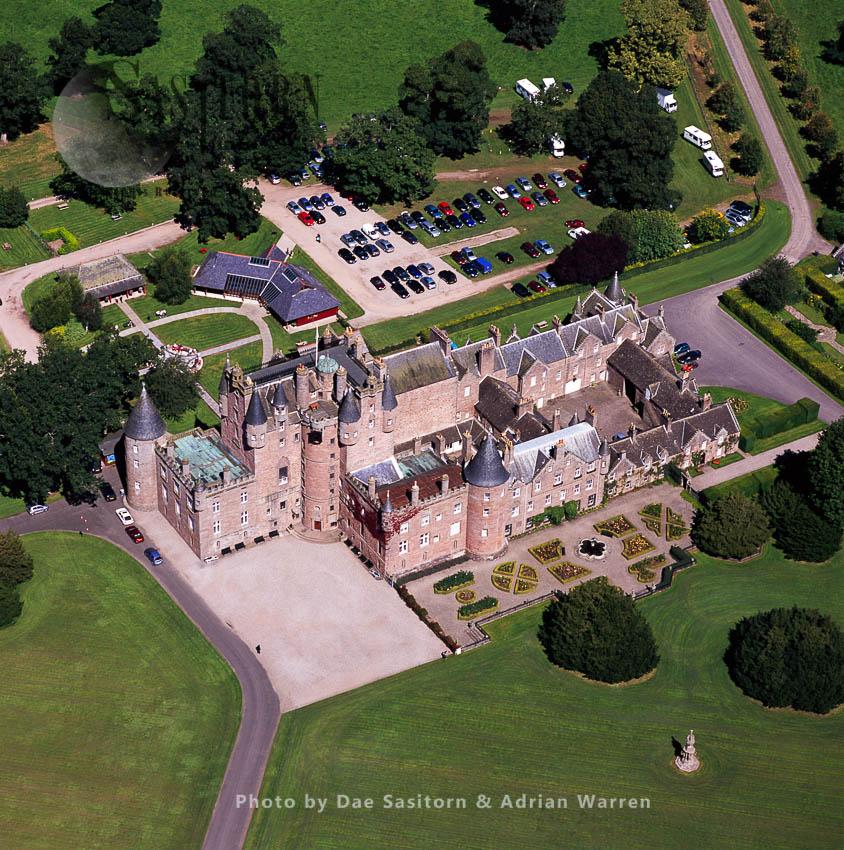Glamis Castle, Village Of Glamis, Angus, Lowlands, Scotland