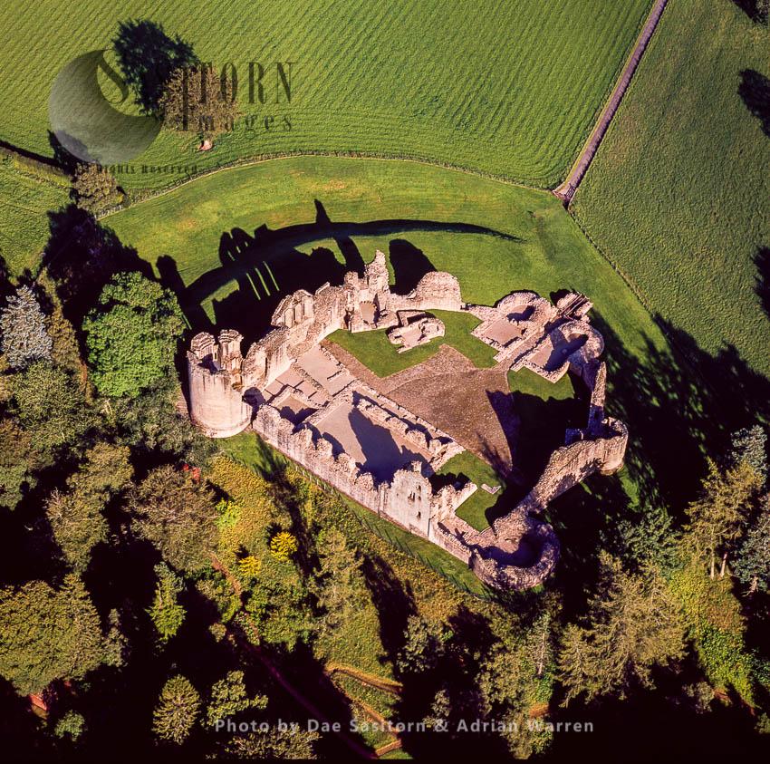 Kildrummy Castle, Near Kildrummy, Aberdeenshire, Scotland