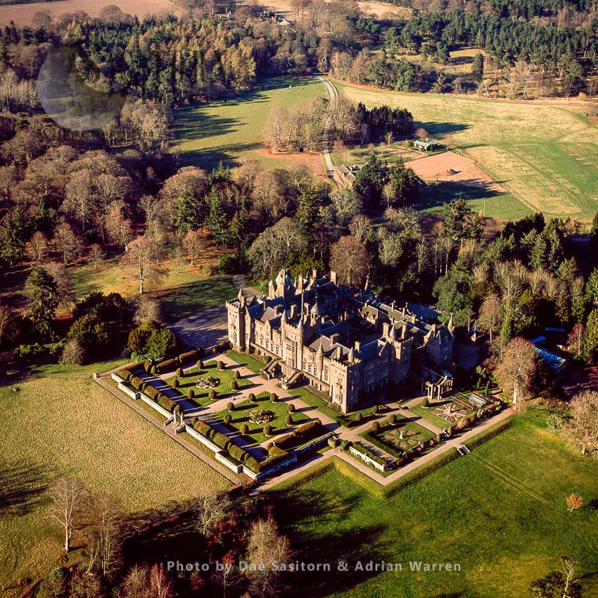 Kinnaird Castle, Farnell, Brechin, Angus, Lowlands, Scotland