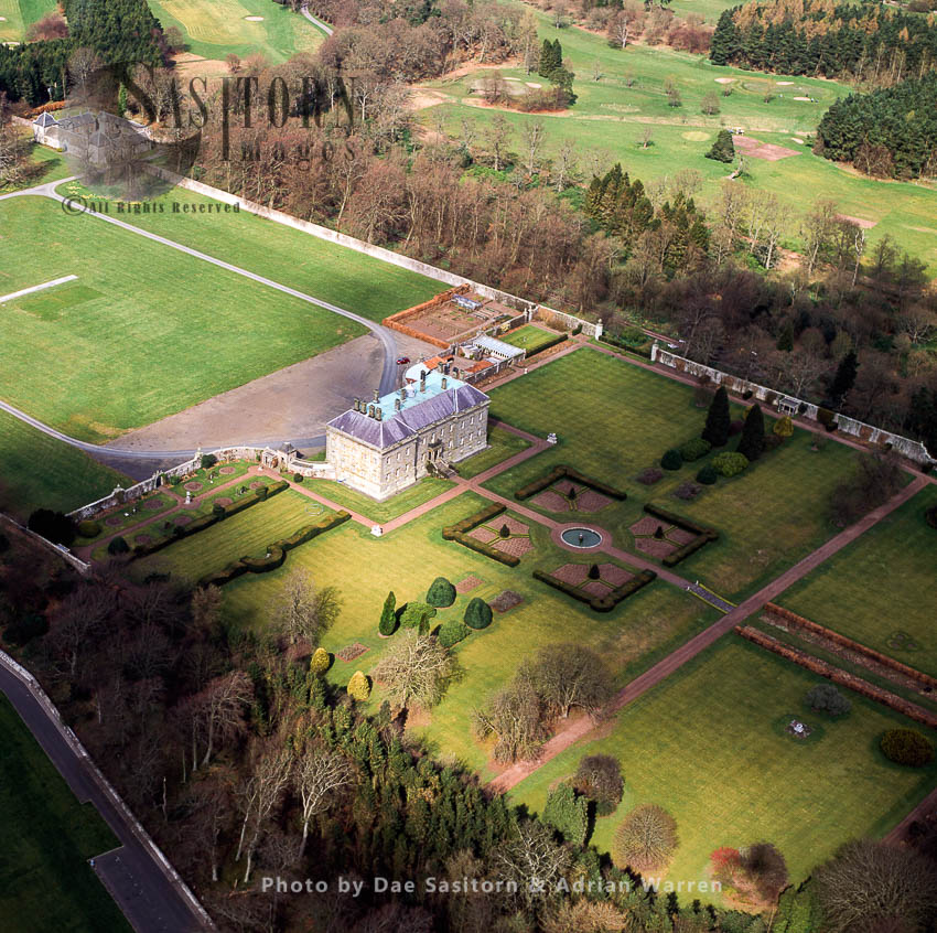 Kinross House, A Late 17th Century Country House Overlooking Loch Leven, Near Kinross, Scotland