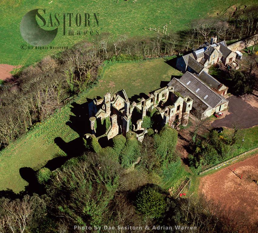 The Ruins Of Seacliff House, Dunbar, Scotland