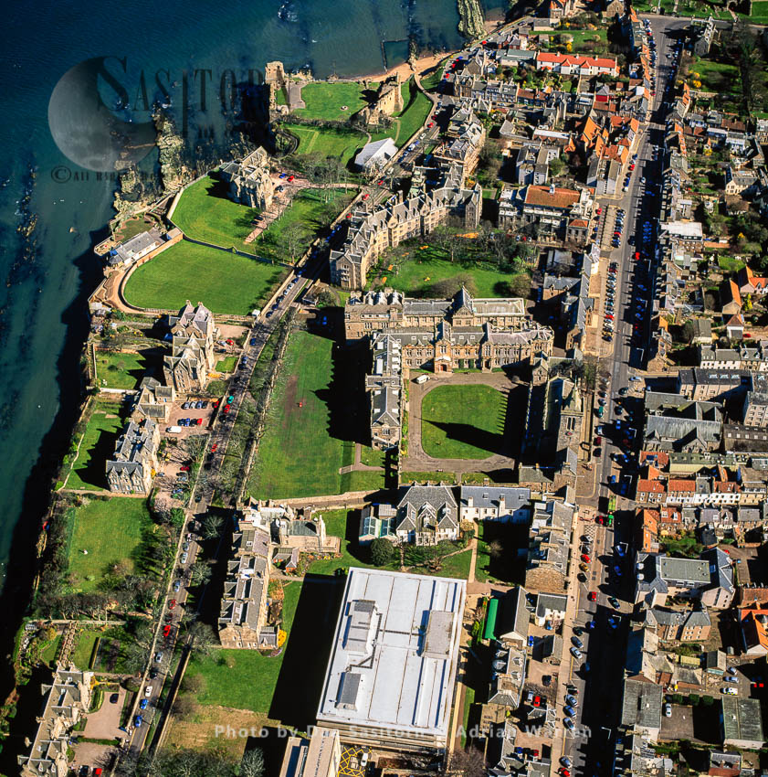 St Andrews, Town And Castle And Former Royal Burgh On The East Coast Of Fife, Lowlands, Scotland