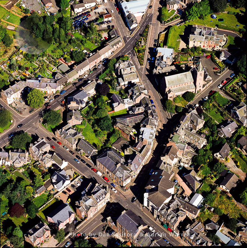 Crieff, A Scottish Market Town In Perth And Kinross, Scotland