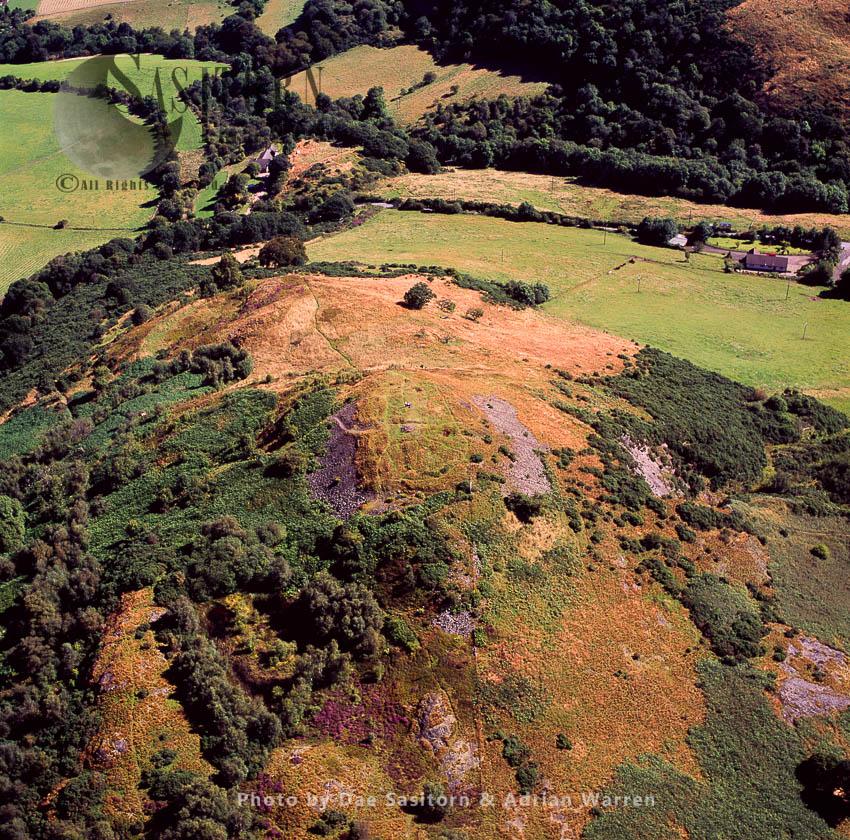 Castle Law (Abernethy) Hillfort, Perthshire, Scotland