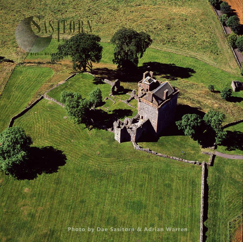 Balvaird Castle, Perthshire, Lowlands, Scotland