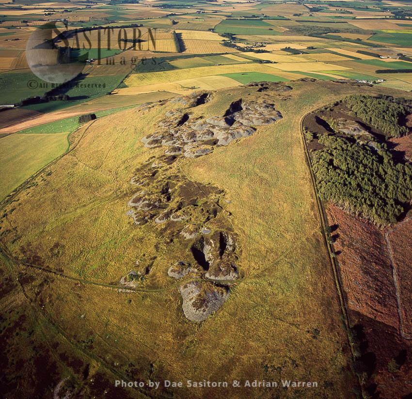 Bennachie Excavations, Aberdeenshire, Scotland