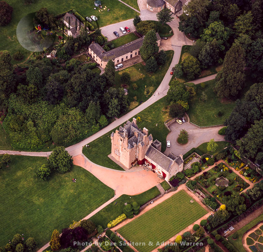 Crathes Castle, A 16th-century Castle Near Banchory, Aberdeenshire, Scotland
