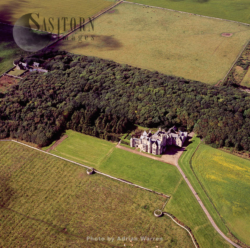 Balfour Castle, Southwest Of Shapinsay, Orkney Islands, Scotland