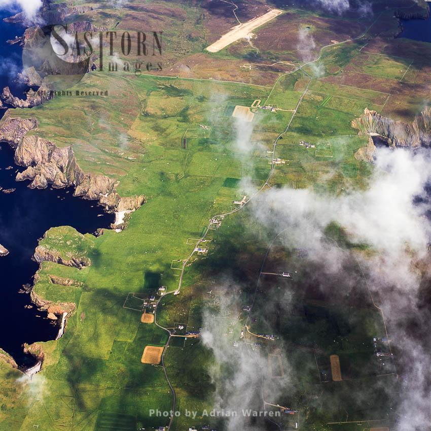 Fair Isle, An Island, Halfway Between Shetland And The Orkney Islands
