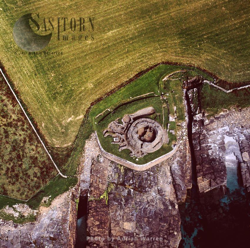 Midhowe Broch, Rousay, Orkney Islands