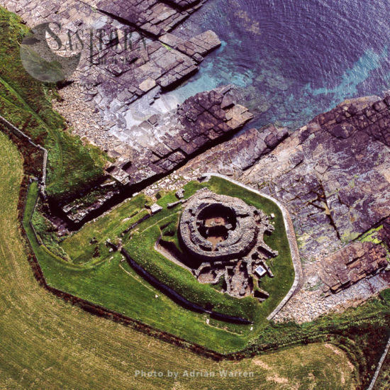 Midhowe Broch, Rousay, Orkney Islands