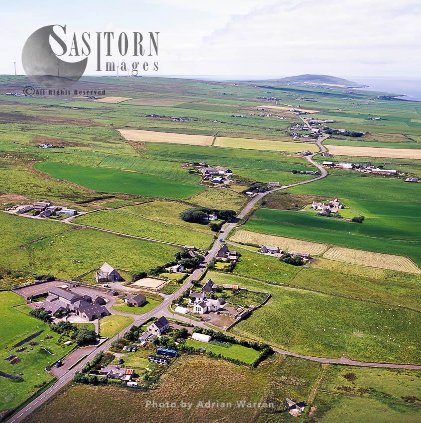 Settlement On Main  Land Orkney, Scotland