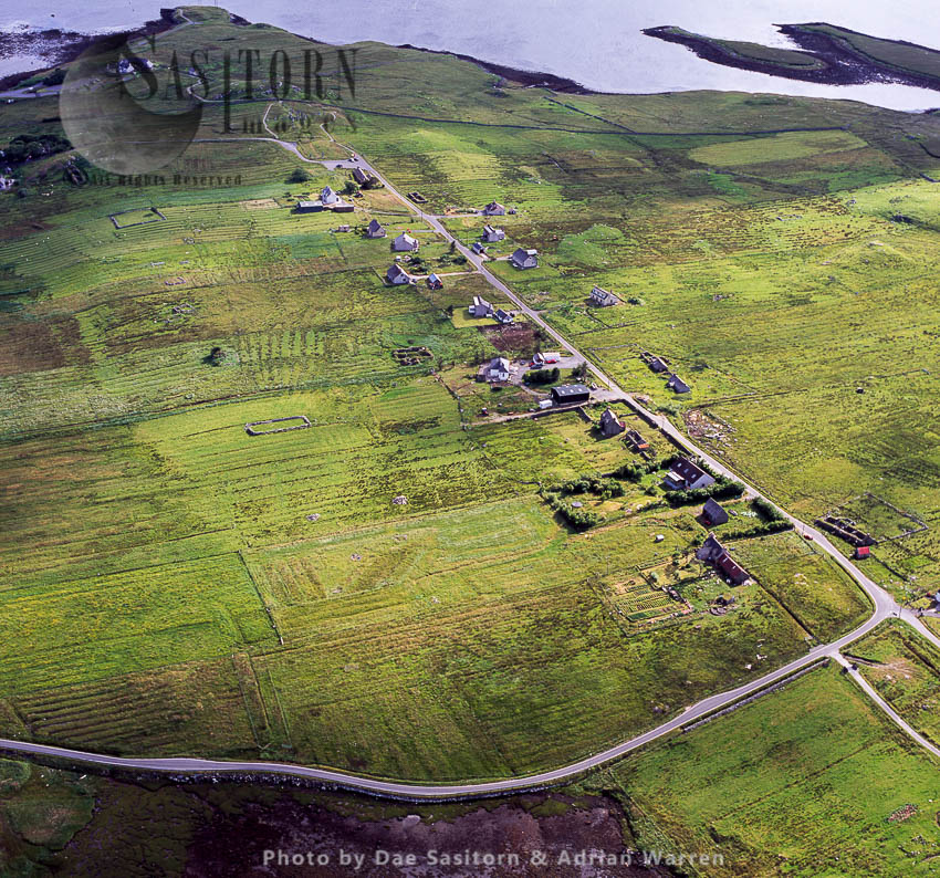 Callanish, A Village (township) On The West Side Of The Isle Of Lewis, Outer Hebrides, West Coast Scotland