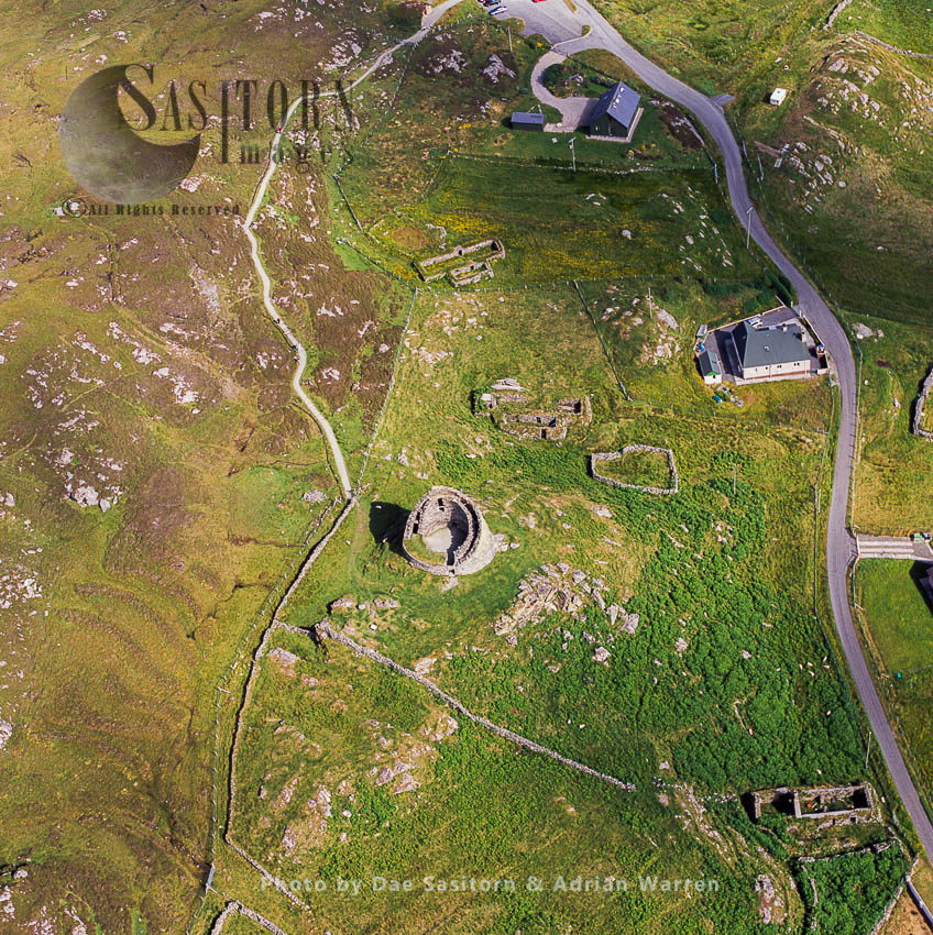 Dun Carloway, A Broch 2 Km To The South-west Of Carloway, Outer Hebrides, West Coast Scotland