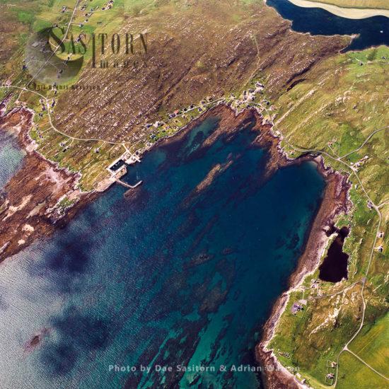 Backhill, Isle Of Berneray, Outer Hebrides, West Coast Scotland