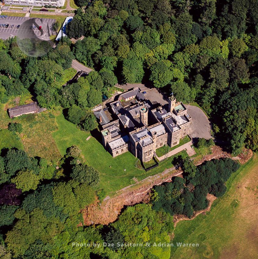 Lews Castle, Isle Of Lewis, Outer Hebrides, West Coast Scotland