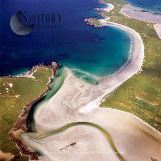 Bhalaigh Strand Meets Traigh Iar, North Uist, Outer Hebrides, West Coast Scotland