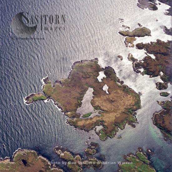 Flodaigh Mor Island, North Uist, Outer Hebrides, West Coast Scotland