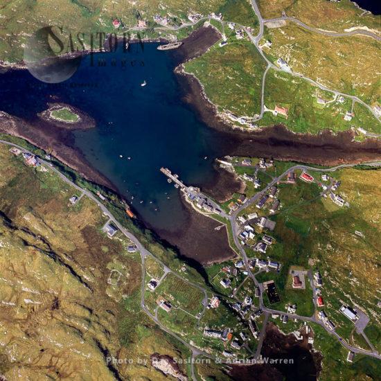 Hamlet, Isle Of Scalpay, South Of Isle Of Lewis, Outer Hebrides, West Coast Scotland