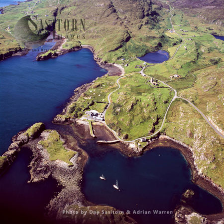 Rodel, South Harris, Outer Hebrides, West Coast Scotland