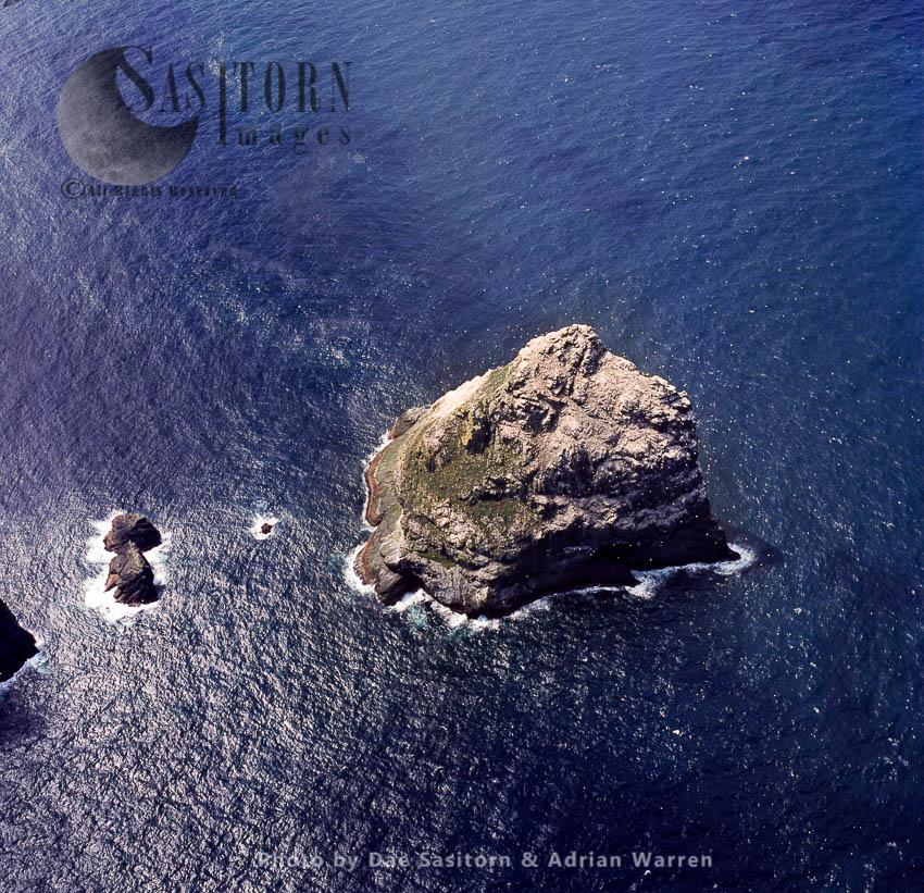 Stac An Armin, Boreray, An Uninhabited Island In The St Kilda Archipelago, Outer Hebrides, West Coast Scotland