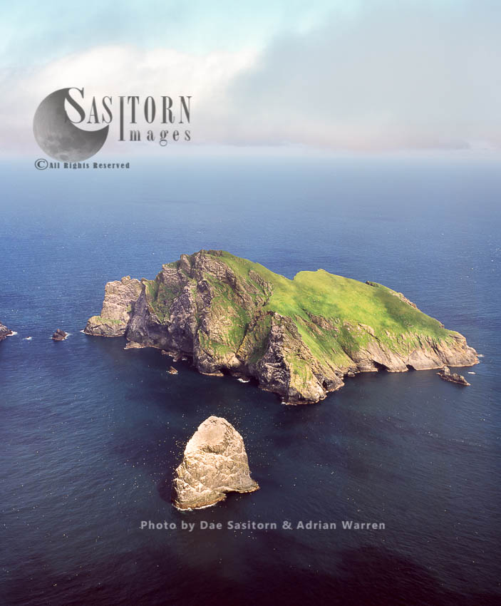 Boreray, An Uninhabited Island In The St Kilda Archipelago, Outer Hebrides, West Coast Scotland