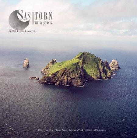 Boreray, An Uninhabited Island In The St Kilda Archipelago, Outer Hebrides, West Coast Scotland