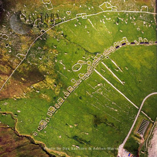 Village, Village Bay, Hirta, St Kilda, Outer Hebrides, West Coast Scotland