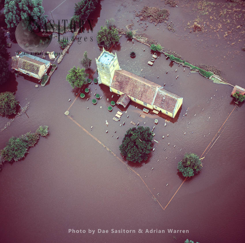 Floods In 2007 At St. Michael And All Angels Church, Tirley, Gloucestershire, England