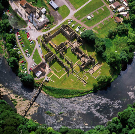 Ruins Of Finchale Priory, A 13th-century Benedictine Priory,  By The River Wear, Durham, England