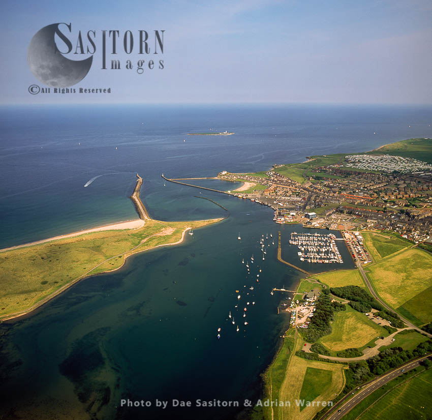 Amble, A Town And Seaport On The North Sea, Northumberland