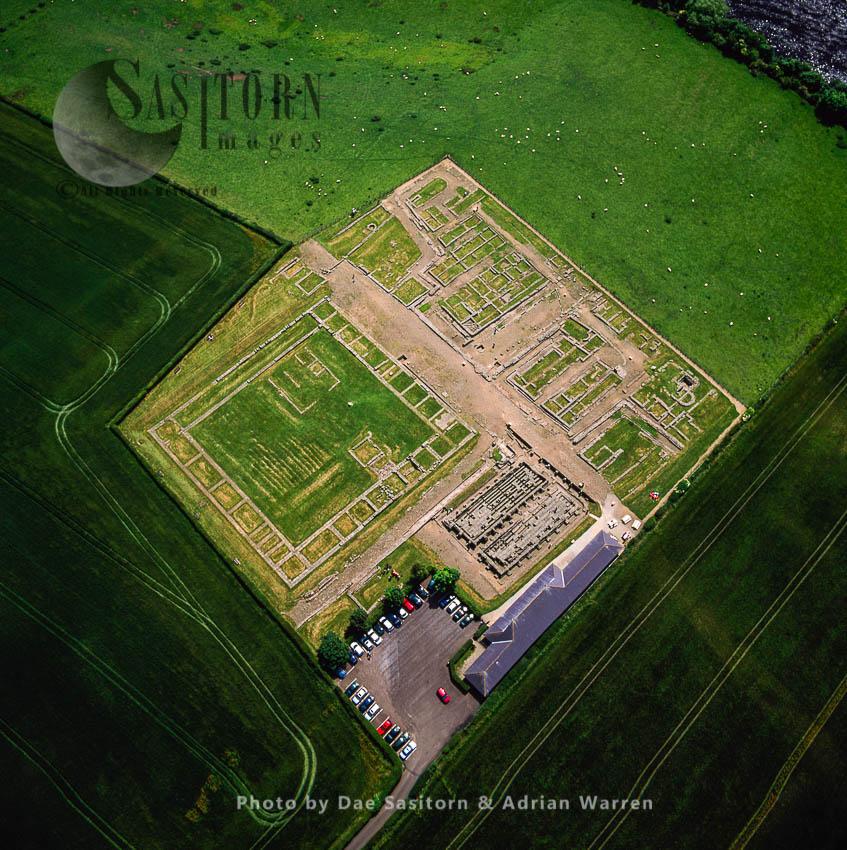 Corstopitum Roman Fort, Hadrian's Wall, Corbridge, Northumberland, England