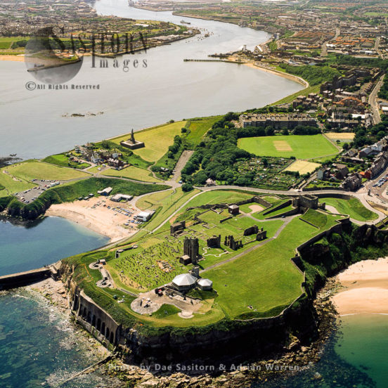 Tynemouth Priory And Castle, Tyne And Wear, England